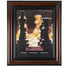 "Studio Décor Home Collection Brown & Black Frame, 11"" x 14"""