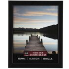 "Studio Décor Home Collection Flat Frame, Black 11"" x 14"""