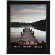 "Studio Décor Home Collection Flat Frame, Black 11"" x 14"""