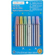 Creatology Glitter Glue Pens, Primary