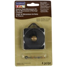 ArtMinds Quartz Clock Movement Kit, 1/4 inch