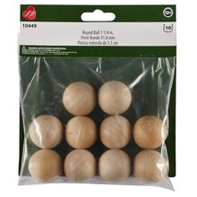 "Wood Balls, 1 1/4"" Packaging"
