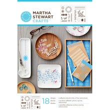 Martha Stewart Crafts Fair Isle Dots Adhesive Stencils