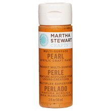Martha Stewart Crafts Pearl Acrylic Paint, Tiger Lily