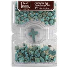 Bead Gallery Pendant Kit, Turquoise