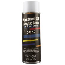 DecoArt Plastercraft Acrylic Gloss Spray Finish