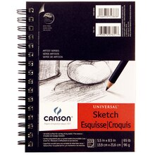 "Canson Universal Sketch Pad, 5.5"" x 8.5"""