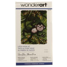 Wonderart Latch Hook Kit, Swingin'