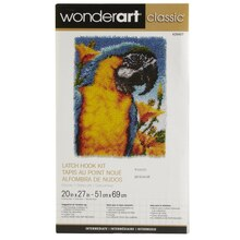 Wonderart Classic Latch Hook Kit, Macaw