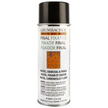 Grumbacher Final Fixative, Matte