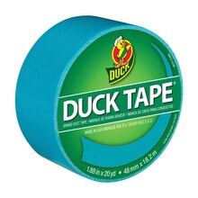 Color Duck Tape Brand Duct Tape, Aqua