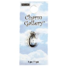Charm Gallery Silver Plated Letter C Charm