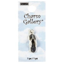 Charm Gallery Silver Plated Flip Flop Charm