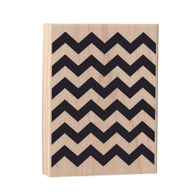 Chevron Wood Stamp by Recollections