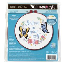 Dimensions Crewel Embroidery Kit, Believe in Yourself