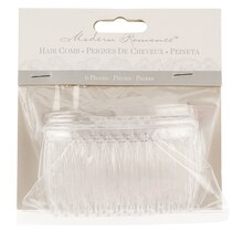 Modern Romance Clear Hair Combs