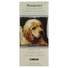 Wonderart Latch Hook Kit, Puppy Love