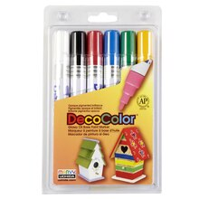 DecoColor Glossy Oil Base Paint Marker, Broad