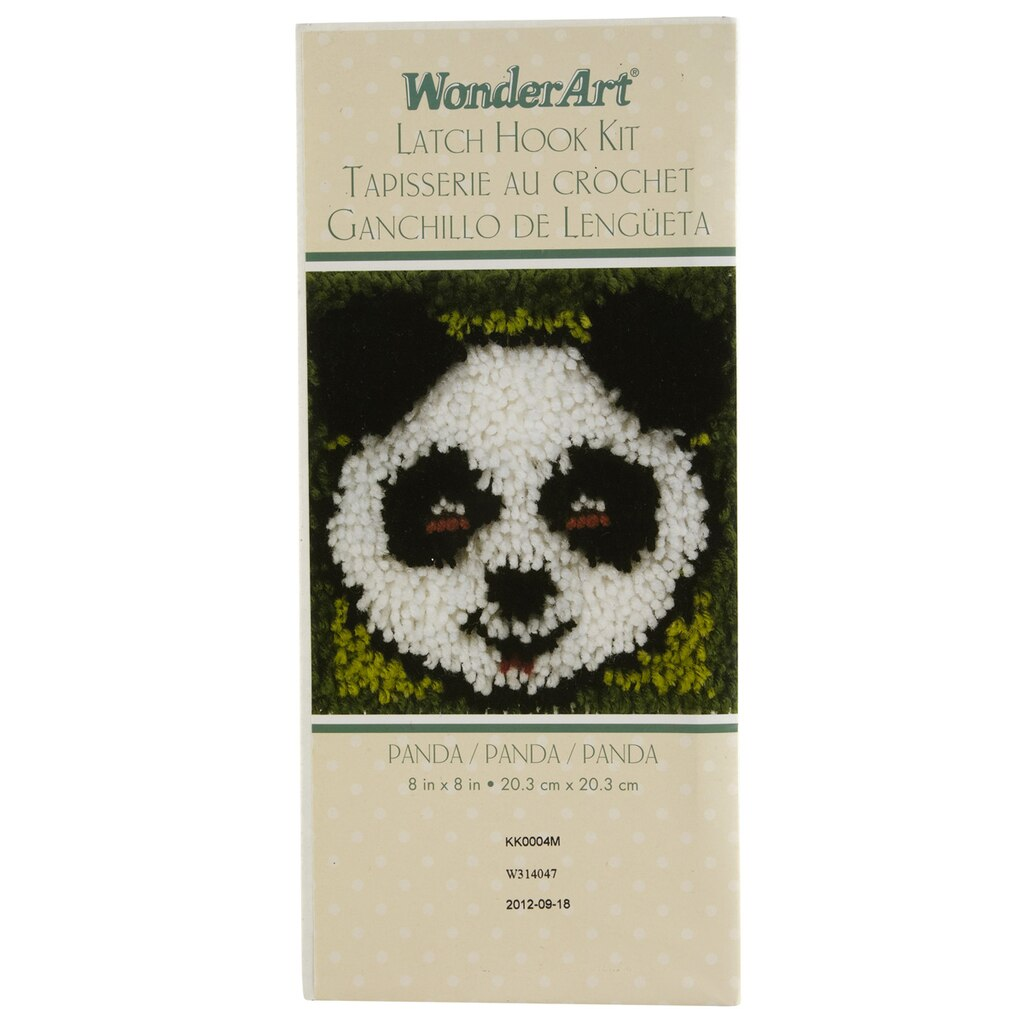 Wonderart® Latch Hook Kit, Panda