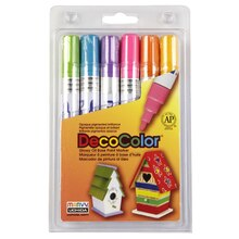 DecoColor Broad Point Paint Marker, Hot Colors