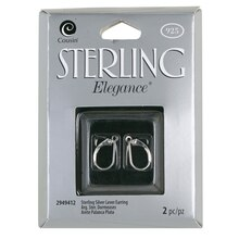Cousin Elegance Lever Earring, Sterling Silver