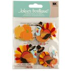 Jolee's Boutique Turkey Character Stickers
