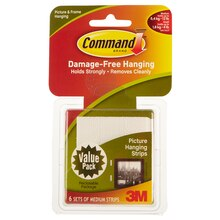 3M Command Small & Medium Picture Hanging Strips