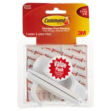 3M Command Hook Value Pack, Large