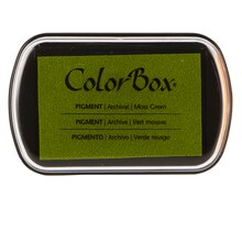 ColorBox Pigment Stamp Ink Pad, Moss Green