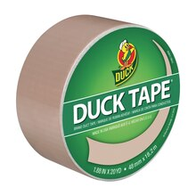 Color Duck Tape Brand Duct Tape, Beige