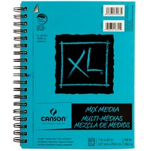 "Canson XL Mix Media Pad, 7"" x 10"""