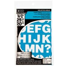 CTHRU BetterLetter Plastic Stencils, Helvetica Bold Assortment