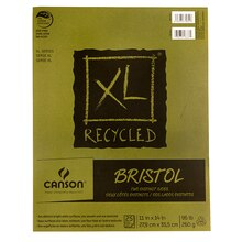 "Canson XL Recycled Bristol Pad, 11"" x 14"""