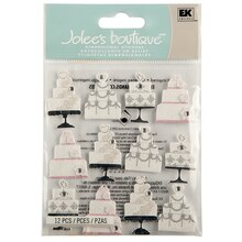 Jolee's Boutique Wedding Cake Repeat Stickers