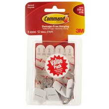 3M Command Small Hook Value Pack
