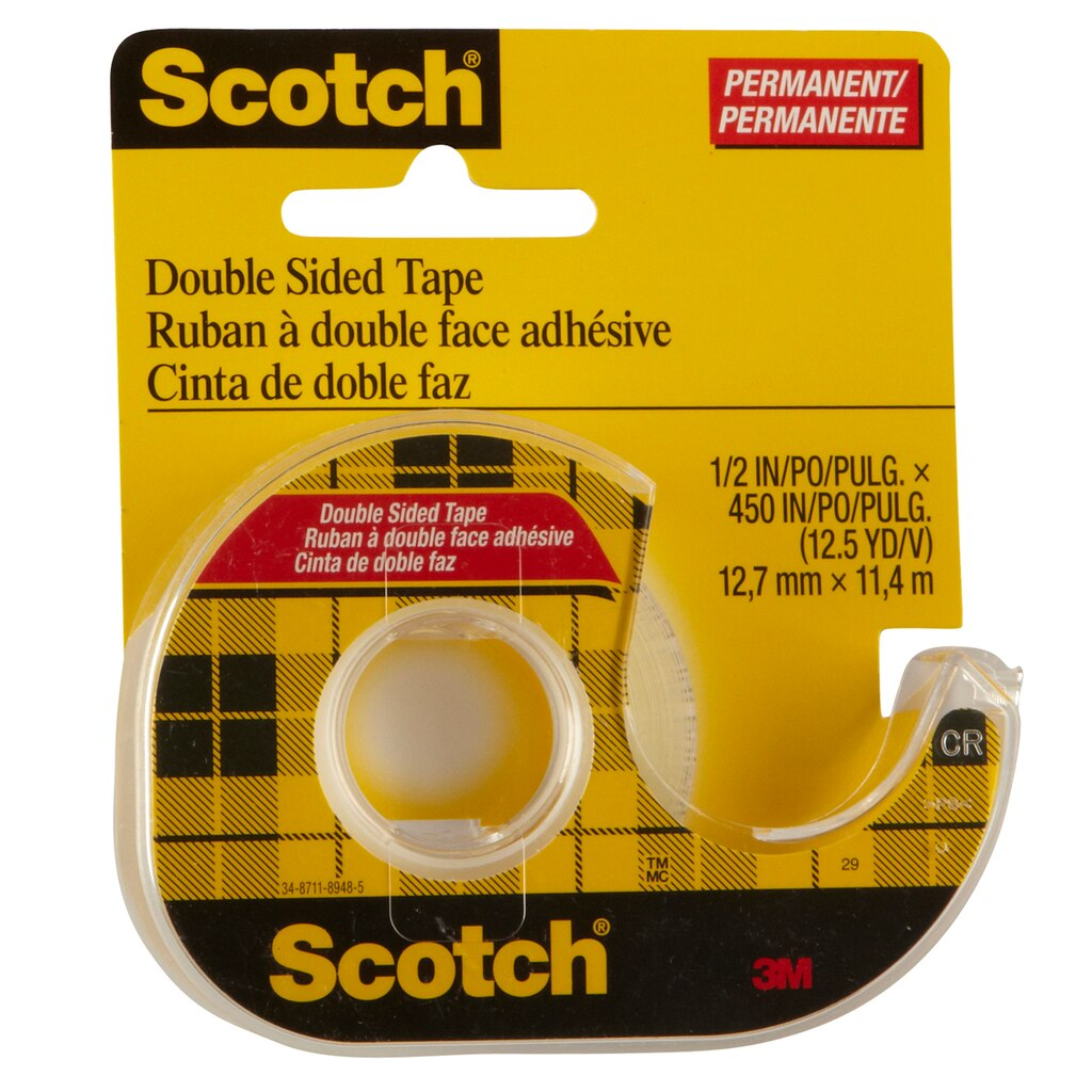 scotch double sided tape. Black Bedroom Furniture Sets. Home Design Ideas