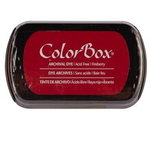 ColorBox Archival Dye Ink Pad, Fireberry
