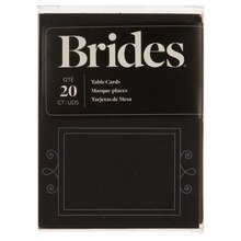Brides Chalk Board Place Cards