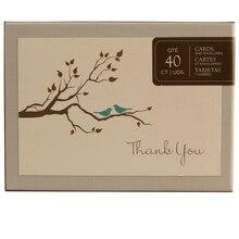 Brides Love Birds Thank You Cards