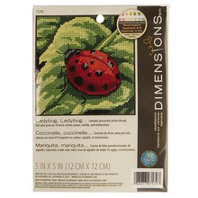 Dimensions Needlepoint Kit, Ladybug