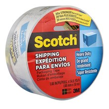 Scotch Heavy Duty Shipping Packaging Tape, 2""