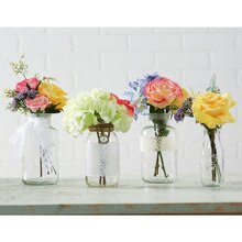 Garden Party: Floral and Glass Containers, medium