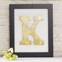 Framed Organic Monogram