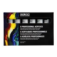 Golden Heavy Body Acrylic Principal 6 Set