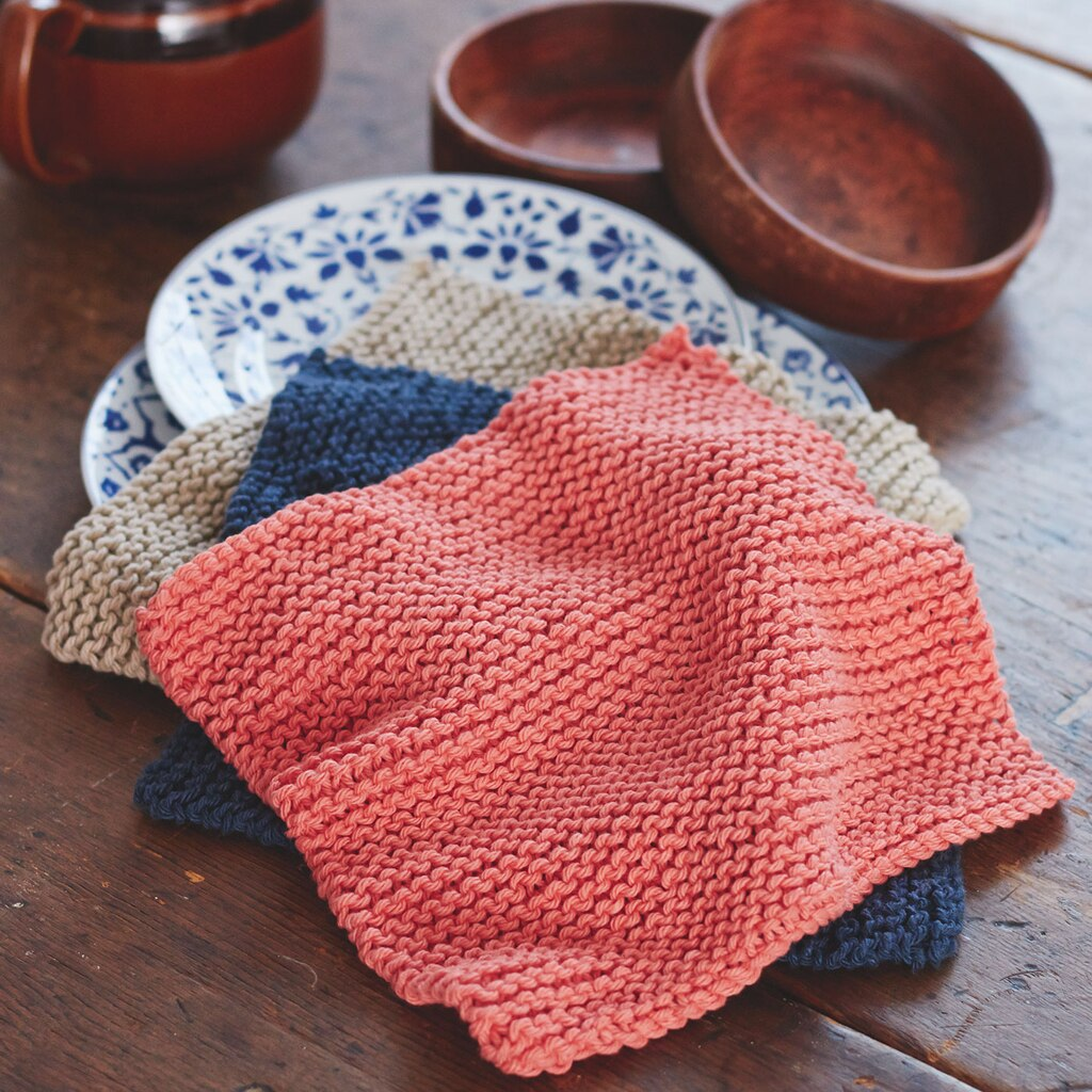 Lily  Sugar n Cream  Back to Basic Dishcloths (Knit)