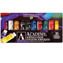 Academy Acrylics, 10 Color Set