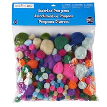 Creatology Pom Poms, Fashion Mix