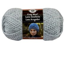 Loops & Threads Cozy Wool Yarn, Stone