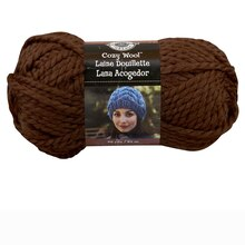 Loops & Threads Cozy Wool Yarn, Chocolate