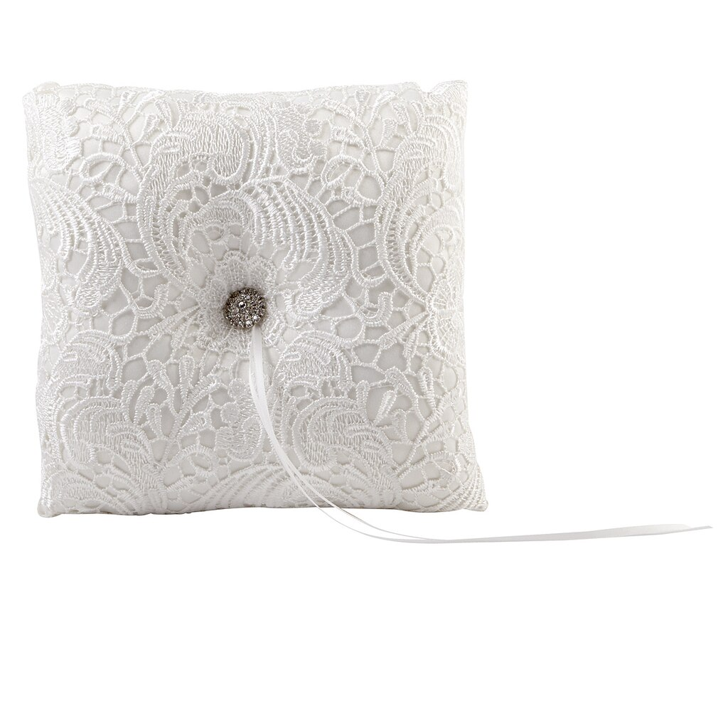 it bearer pillow celebrate tulle ring occasions